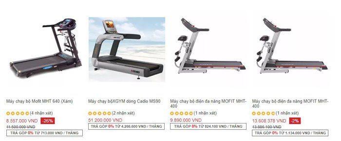 Tư vấn chọn mua máy chạy bộ nào tốt, bền và giá rẻ nhất hiện nay? 1
