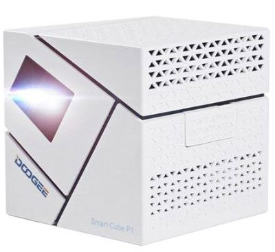Máy chiếu Mini projector Android TV Smart Box Smart Cube P1
