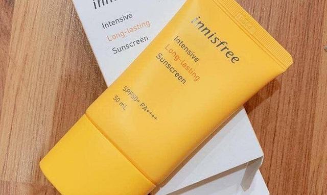 Kem chống nắng Innisfree Intensive Long-lasting