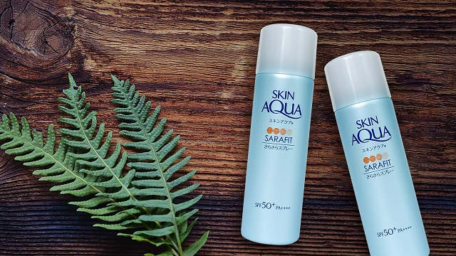 Kem chống nắng dạng xịt Skin Aqua Sarafit