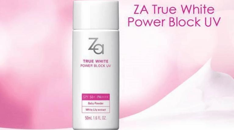 Kem chống nắng ZA True White SPF50
