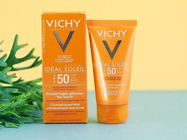 Kem chống nắng Vichy mang đến hiệu quả chống nắng vượt trội