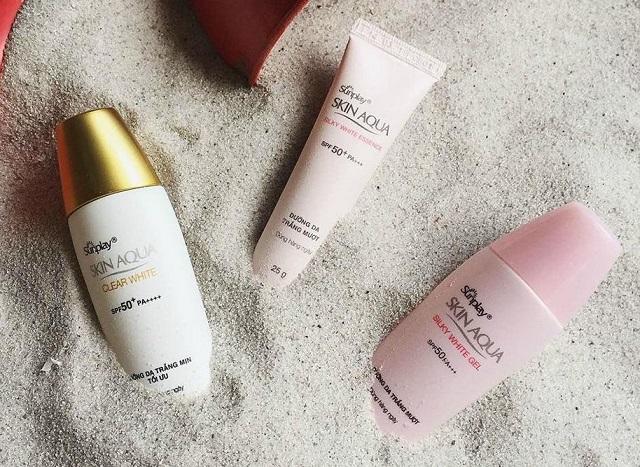Skin Aqua thương hiệu chống nắng được ưa chuộng